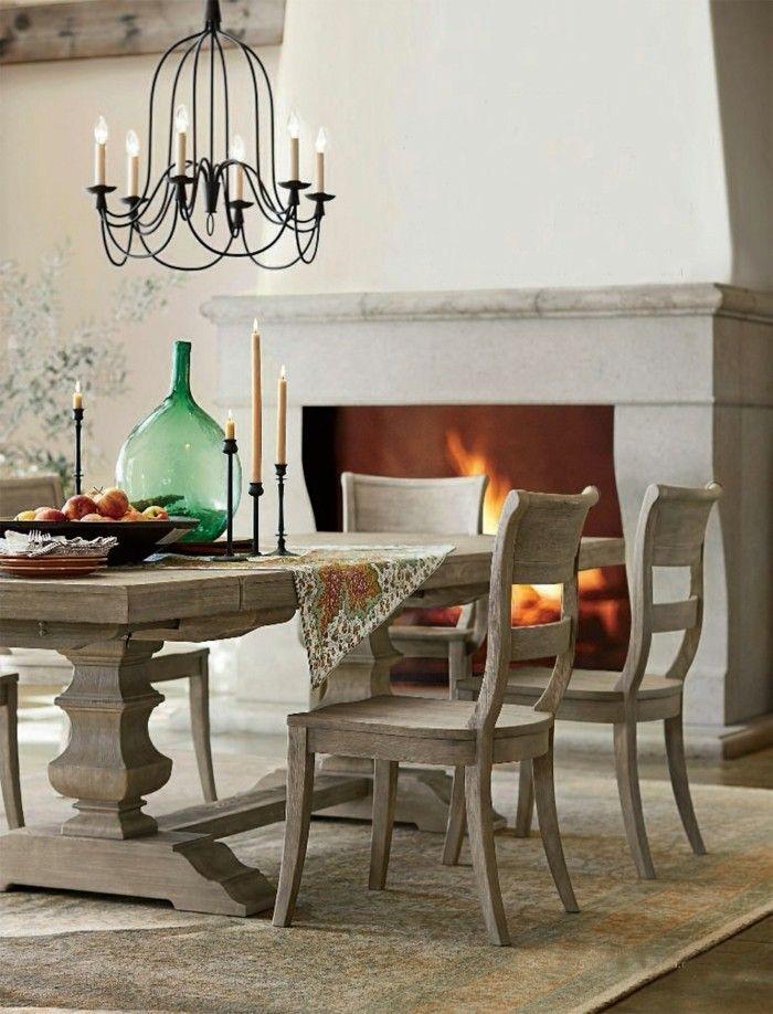 Rustikale Wohndekoration Essbereich Dekorieren Modern Rustic Homes, Modern  Rustic Decor, Rustic Style, Rustic
