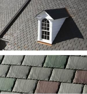 Symphony Composite Slate Roof Shingles Slate Roof Shingles Cottage Exterior Residential Roofing