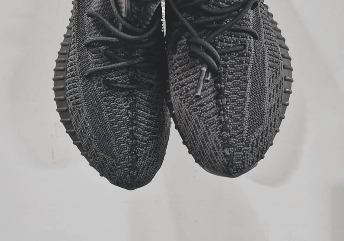 1f3f6071d55 adidas Yeezy Boost 350 v2 Black FU9013 First Look