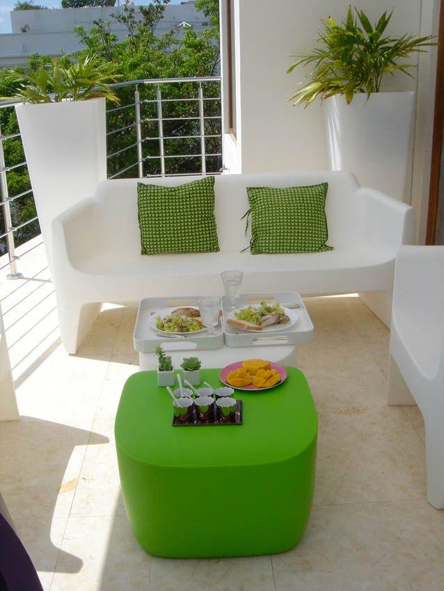 Design Gartensofa Translation Kunststoff in 8 Farben
