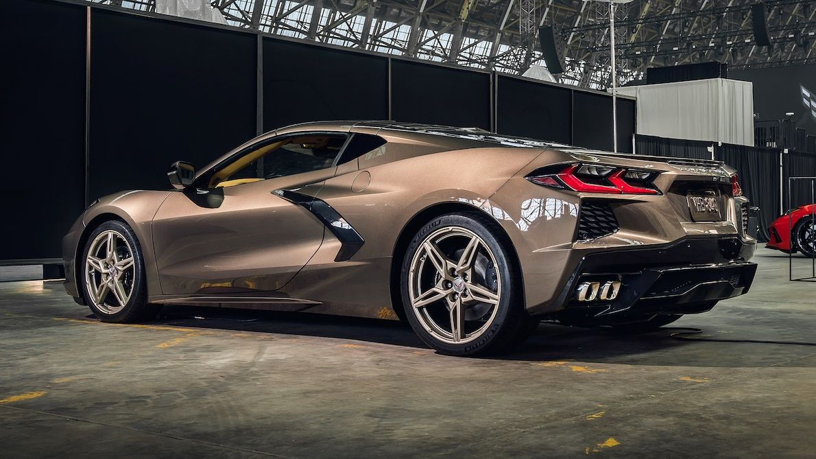 We See You 2020 Chevrolet Corvette Convertible Peeks Out At Coupe Reveal Motortrend Corvette Convertible Chevrolet Corvette Corvette