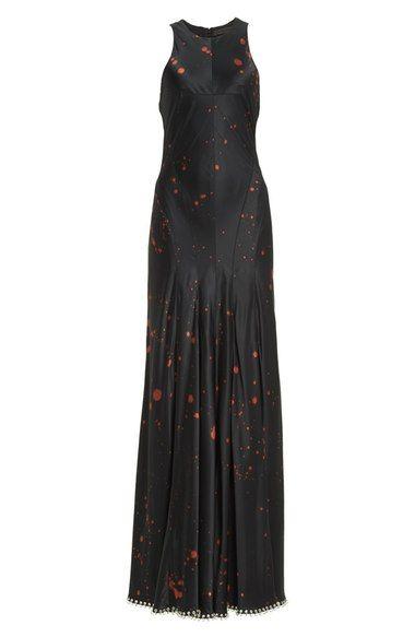 ALEXANDER WANG Pierced Silk Muscle Tank Dress. #alexanderwang #cloth #