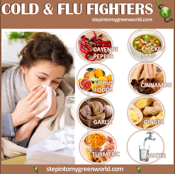 ☛ Will YOU take a #flu shot or will you take #prevention measures and fight the #cold and flu the natural way? FOR THE BEST COLD AND FLU FIGHTER FOODS: http://www.stepintomygreenworld.com/healthyliving/health/cold-and-flu-fighters/ ✒ Share | Like | Re-pin | Comment