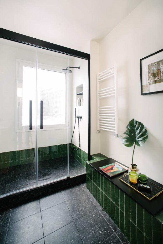 Reforma de baño en Madrid con estilo midcentury e ...