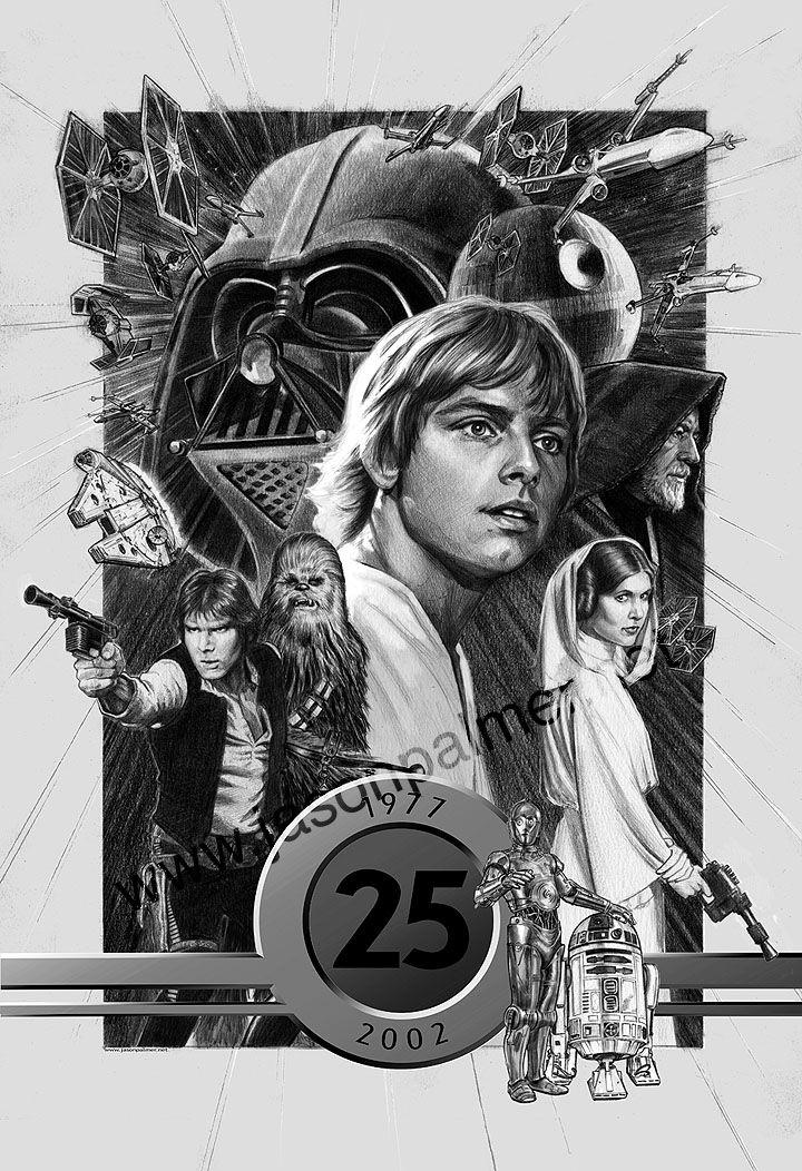 Star Wars 25th by jasonpal on DeviantArt
