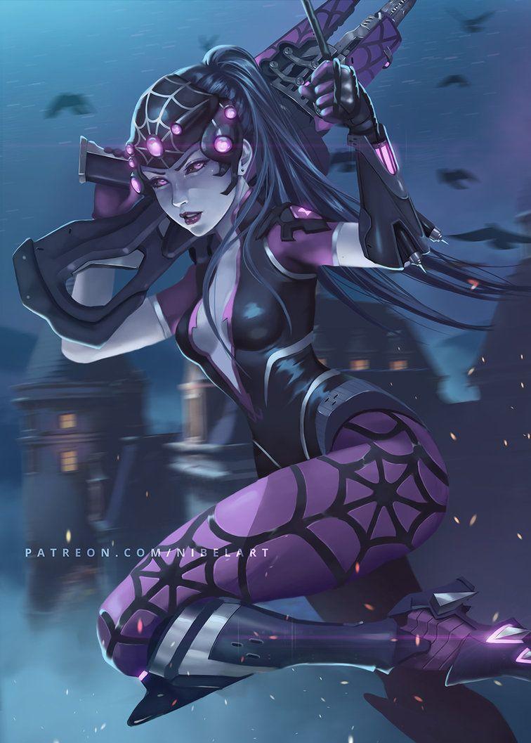 Widowmaker Spider Overwatch Widowmaker Overwatch Comic Overwatch