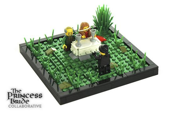 Young Robin Wright Gets The LEGO Treatment #refinery29  http://www.refinery29.com/2014/07/71461/princess-bride-legos#slide6