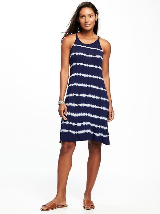 65353732d41 Old Navy Sleeveless High-Neck Swing Dress for Women