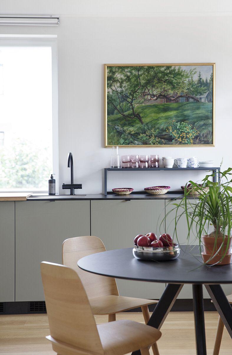 Studio10 Ikeafronter I Den Fargen Du Onsker Ikea Kjokken Ideer Hus Innredning Furniture [ 1204 x 787 Pixel ]