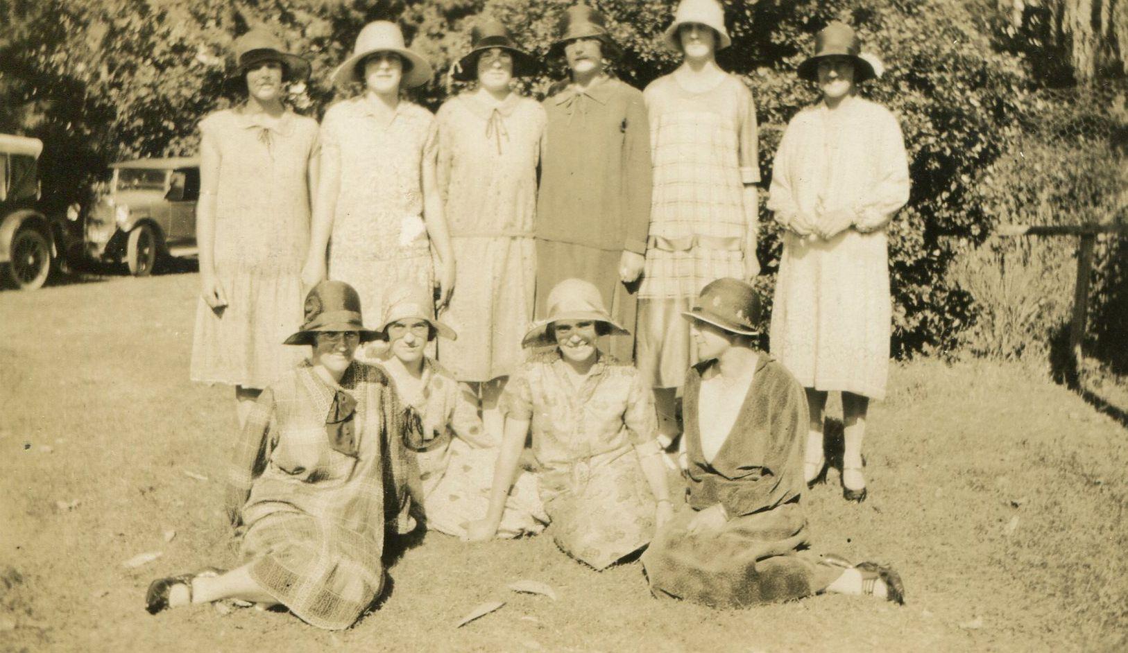 Photo of 1920's New Zealand – fashion