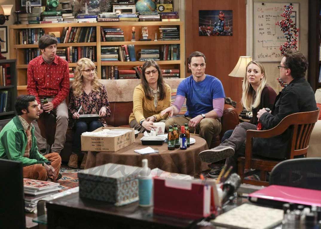 """Los actores de 'The Big Bang Theory' se bajan el sueldo en solidaridad con sus compañeras - Christine Baranski, Jim Parsons, Johnny Galecki, Kaley Cuoco, Kevin Sussman - """"The Big Bang Theory""""-"""