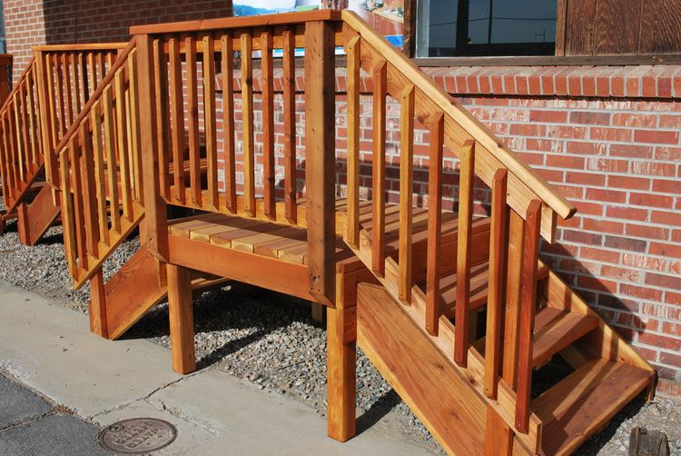 Best Redwood Deck With Images Redwood Decking Porch Steps 400 x 300