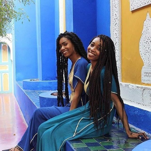"""Sisters that travel together .."""" by @tiffanyeatworld #Marrakech #Morocco #travelafrica http://ift.tt/2biiA1s"""