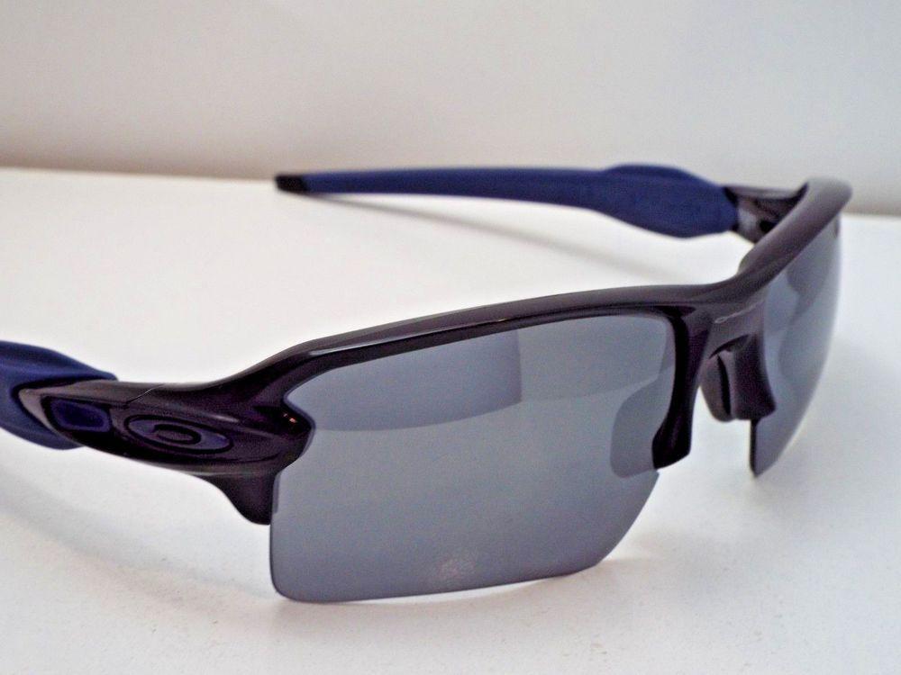6bce8b3824 Authentic Oakley OO9188-44 Flak 2.0 XL Black Navy Black Ir Sunglasses  195   fashion