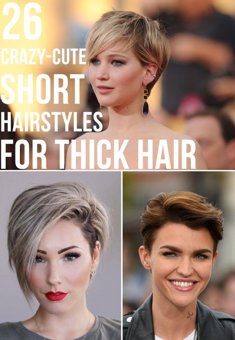 10 Crazy-Cute Short Hairstyles for Thick Hair in 10 (With images