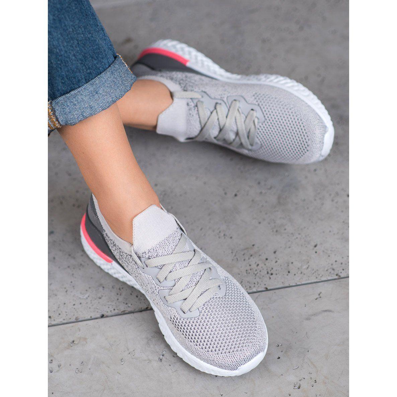 Lekkie Buty Sportowe Mckeylor Szare Sneakers Nike Nike Free Shoes