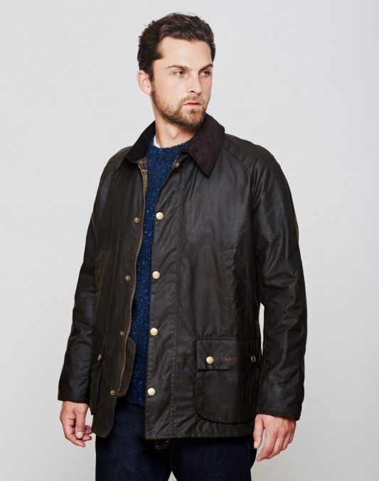 Barbour Ashby Waxed Field Jacket Olive - BLACK FRIDAY SALES ...