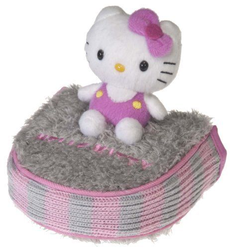 """Hello Kitty Golf """"Mix and Match"""" Putter Mallet Headcover (Grey/Pink) by Hello Kitty. $24.95. This beautiful Ultra Plush Mallet style putter cover has the Hello Kitty Character sitting atop the cover. It fits most mallet style putters and has a magnetic closure. Available in 4 colors"""