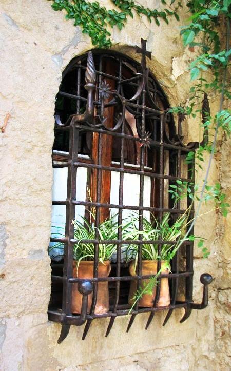 Fabulous Ironwork On This Old Spanish Hacienda Window With