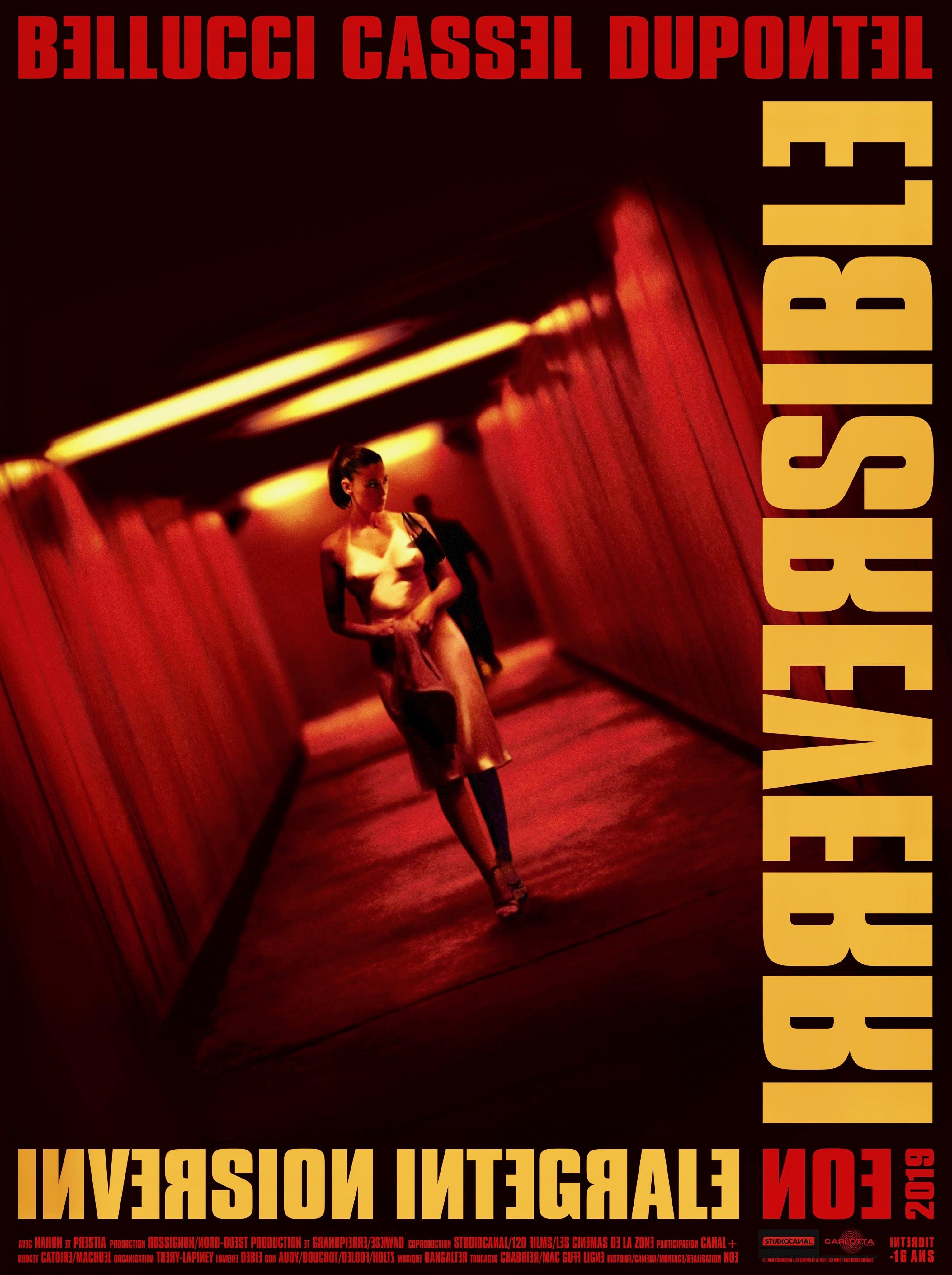 Irreversible 2002 3058 4096 Re Release Poster Best Movie Posters Pop Posters Film Inspiration