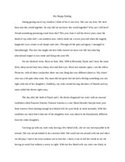 Essay On Nutrition V Junk Food Opinion Of Professional Word Summary