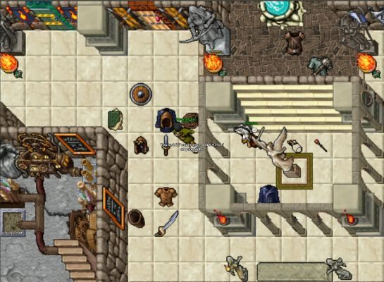 Tibia is a Free to Play [RPG] Role Playing MMO Classic Game
