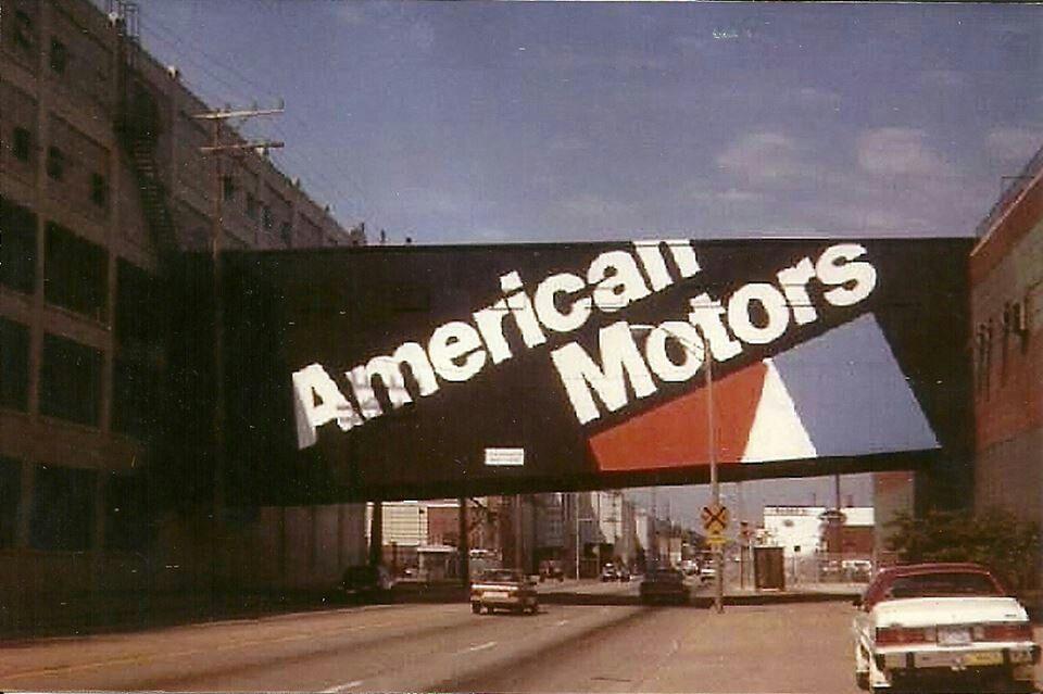 American Motors Overpass Kenosha Wisconsin Kenosha