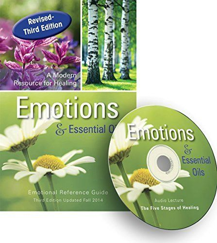 Emotions & Essential Oils, 3rd Edition Book + Audio CD (Bookmark Included)
