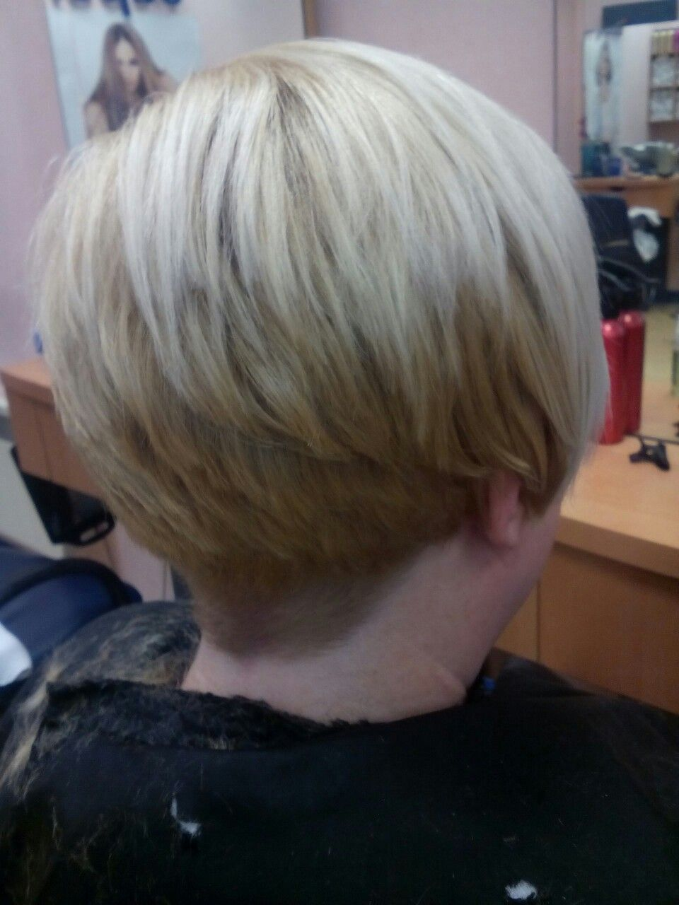 Clippers and scissors are used for this amazing short hairstyle it