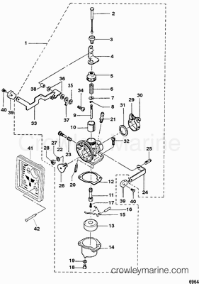 carburetor mariner 3 3 mercury outboard, carburetor adjustment