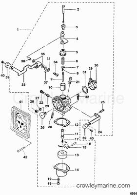 Carburetor Mercury Outboard Outboard Carburetor