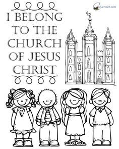 Love This Handout For Nursery I Belong To The Church Of Jesus Christ Lds Nursery The Church Of Jesus Christ Church Nursery