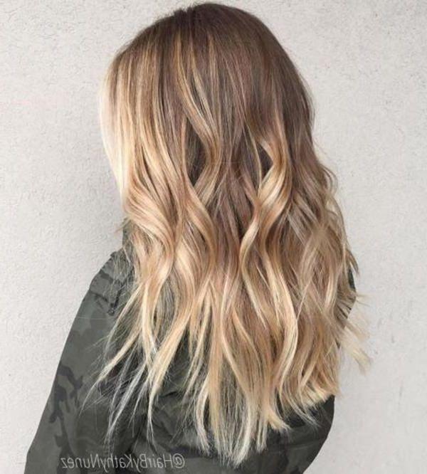 20 dunkelblonde Balayage-Haarfarbe-Ideen zum Ausprobieren im Jahr 2019