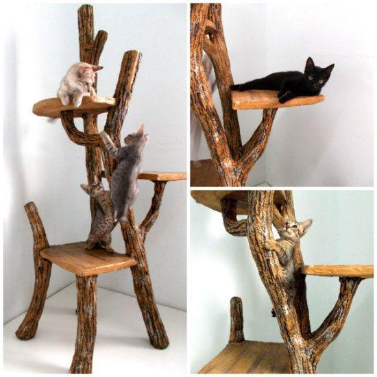 Rbol para gatos deco mascota pinterest rbol para - Trepadores para gatos ...