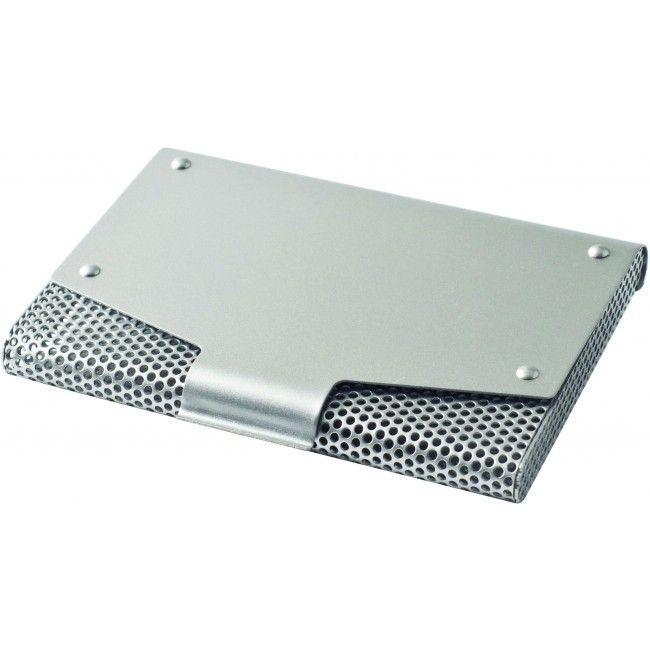 Metal Business Card Holder With Mesh Casing Business Card Case