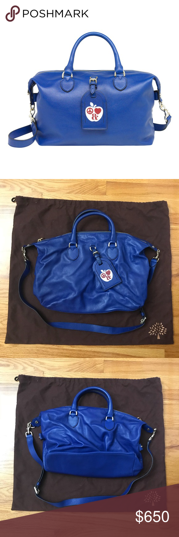Authentic Mulberry New York Clipper Glossy Buffalo Authentic Mulberry New York Clipper Glossy Buffalo bag in blue! Amazing condition, only worn twice, like new! Gold hardware, exclusive Mulberry bag which was made when they opened their store in Soho! Mulberry Bags Satchels #mulberrybag Authentic Mulberry New York Clipper Glossy Buffalo Authentic Mulberry New York Clipper Glossy Buffalo bag in blue! Amazing condition, only worn twice, like new! Gold hardware, exclusive Mulberry bag which was mad #mulberrybag