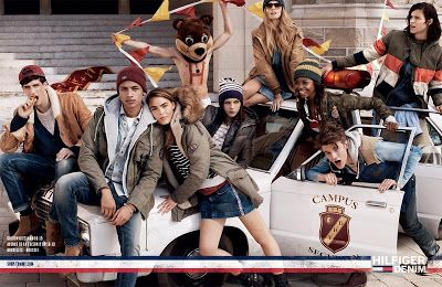 Tommy Hilfiger Ad Campaign Fall/Winter 2013/2014