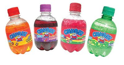 Chubby! The official kids' soda (sof' drink) in Trinidad and Tobago