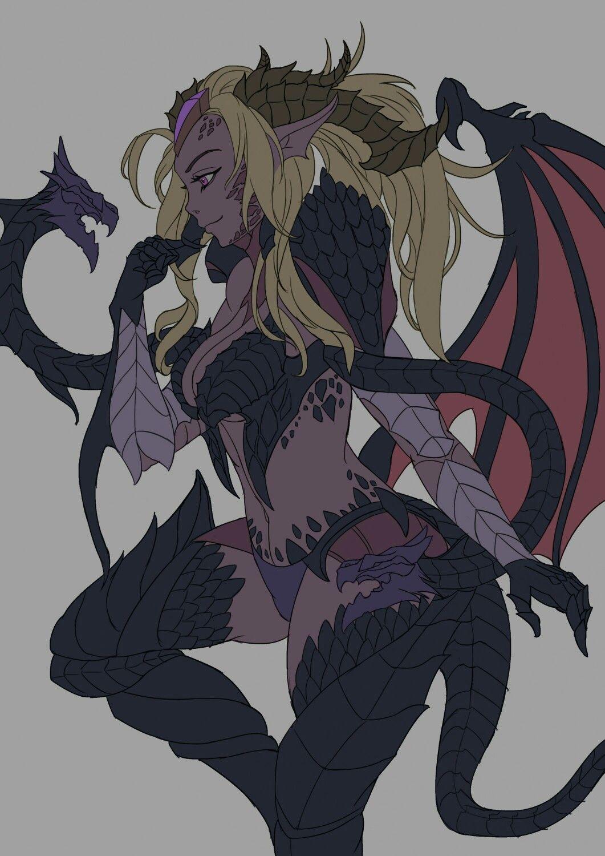 \u2022Dragon Sorceress Zyra\u2022 - League of legends