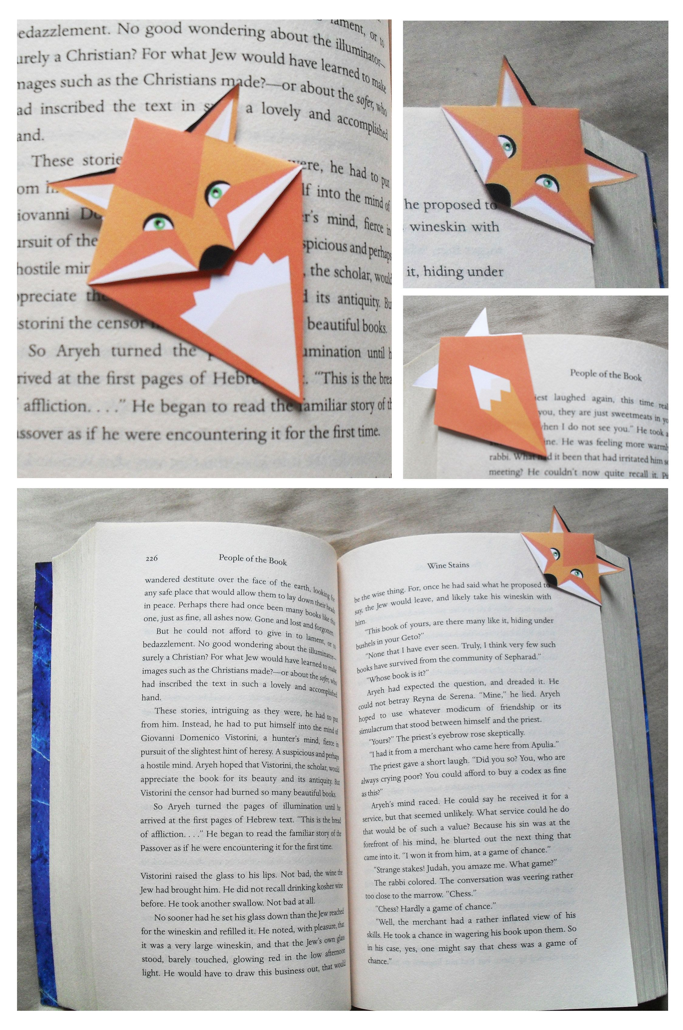Paginas De Libros Pdf Animal Corner Bookmark Pdf Make Them Yourself Cool Ideas