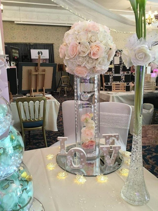 60cm Large Cylinder Vase Hire Only To Rent In Sale Cheshire