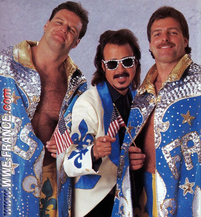Wwf Fabulous Rougeau Brothers - Google Search