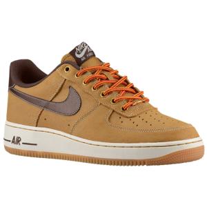 Nike Air Force 1 Low - Men's - Wheat/Sail/Gum Light Brown/Baroque Brown