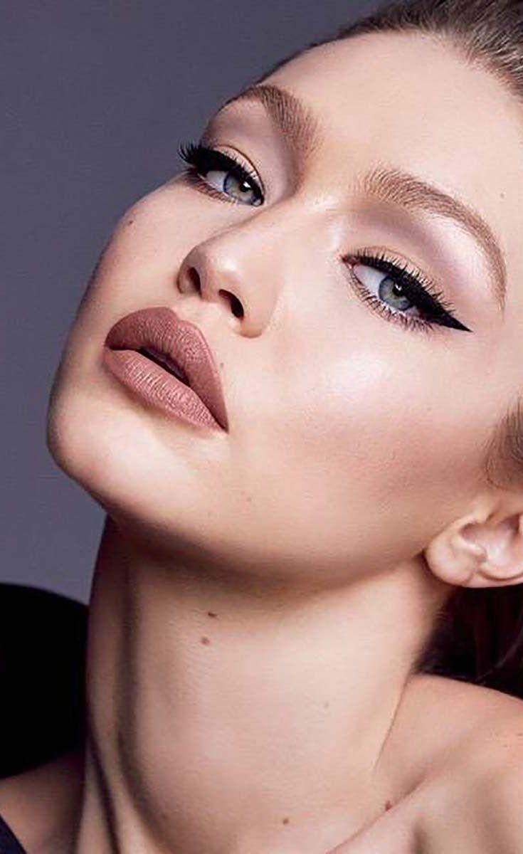 5 inspirações de maquiagem com Gigi Hadid #gigihadid