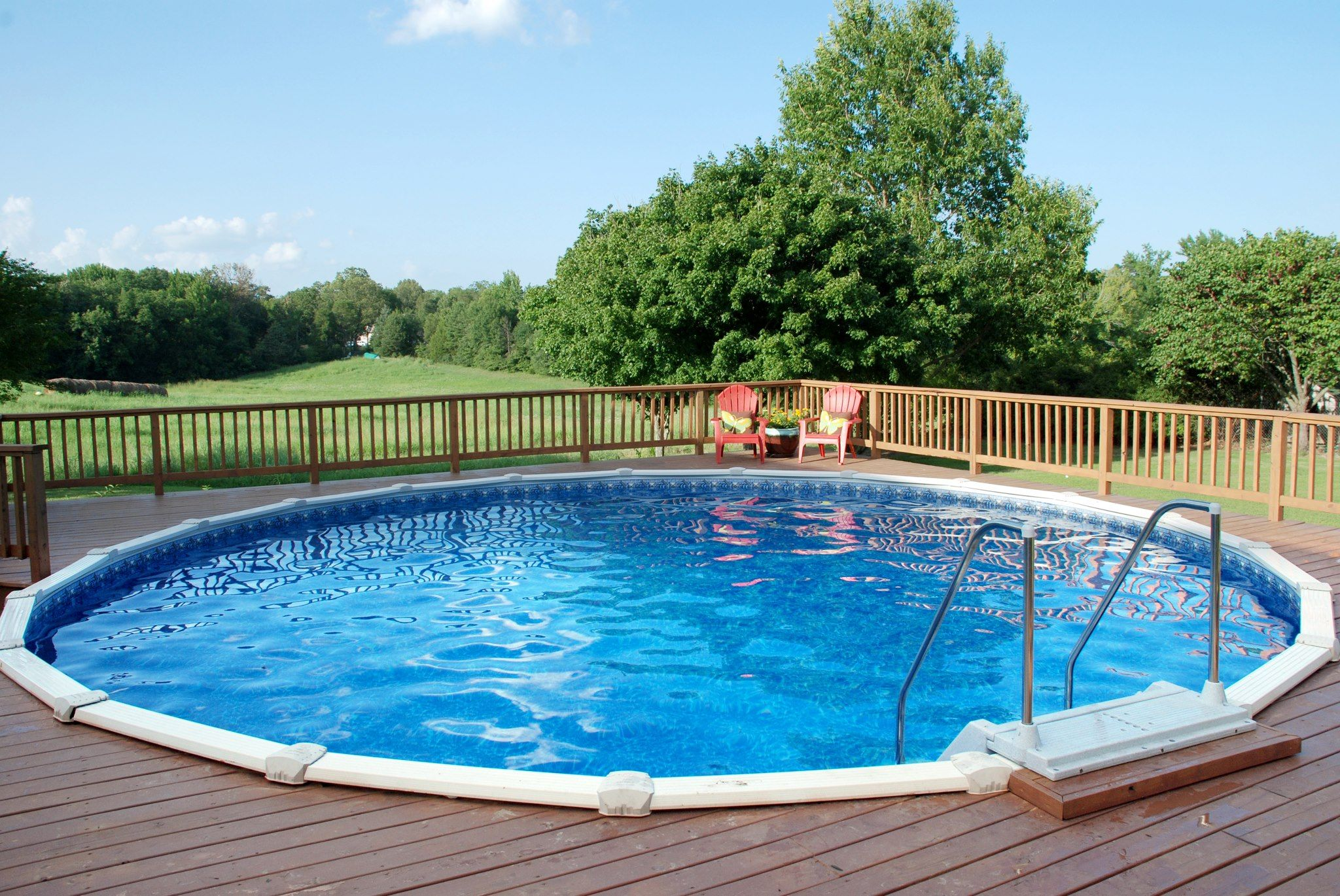 Nice set up above ground pool decks pinterest nice - Nice above ground pools ...