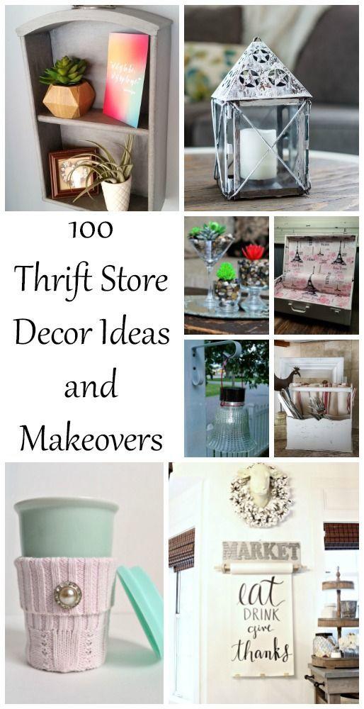 Thrift Store Decor Ideas - My Repurposed Life Rescue Re-imagine Repeat