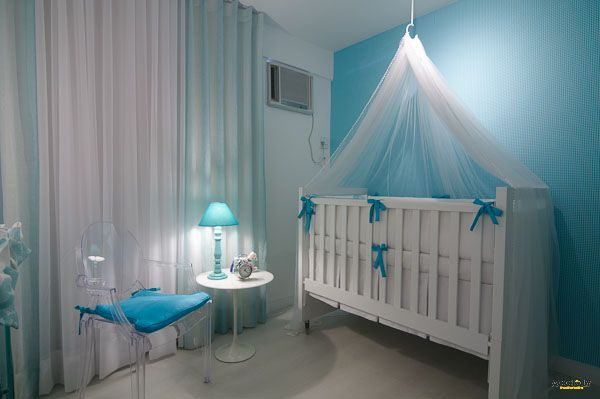 Quarto turquesa Quarto de bebê azul turquesa Pinterest