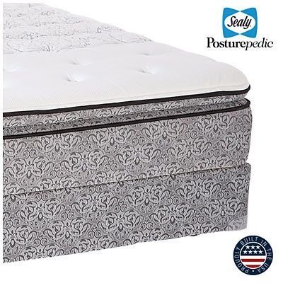 Sealy 174 Posturepedic 174 Helden Lane Queen Euro Pillowtop