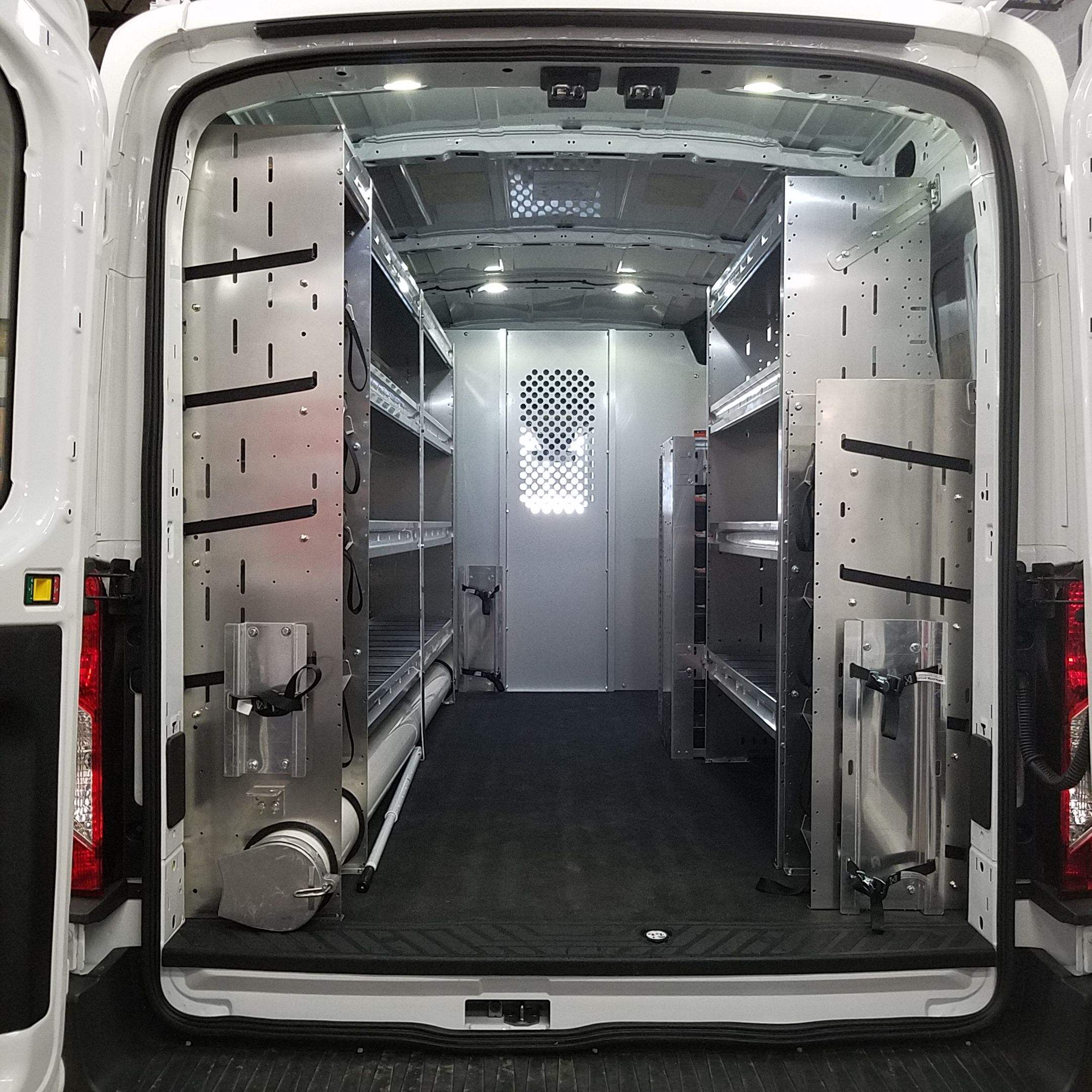 Check Out Our Van Shelving Packages Including Racks And Bins For Cargo Work Vans Featuring Shelving For Electricians Plumb Van Shelving Van Storage Hvac Work