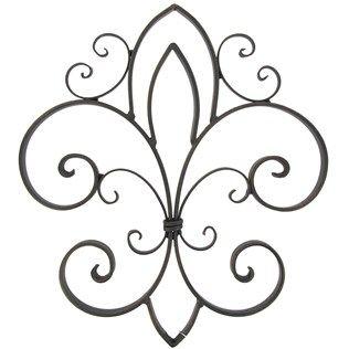 14 99 7 49 Tar Bronze Fleur De Lis Iron Wall Decor Hobby Lobby
